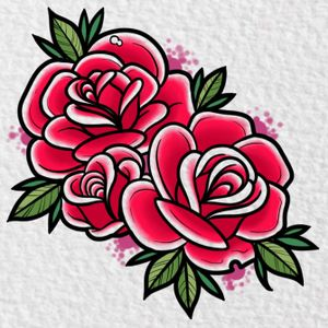 Neotraditional sortof new school roses. 2 of 5