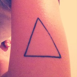 #triangle #triangletattoo