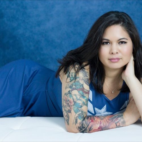 @CarolineCosplay Photography by @ronbirdportraits #photography #inkedgirls #tattooedgirl #inked