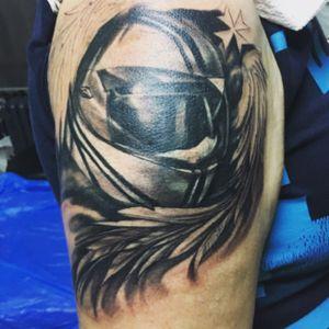 #tattoo #helmet #coverup