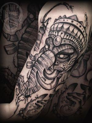 Feita esses dias, valeu pela preferência de sempre! #rataria #tattoo #blackwork #blackworkers #blackworkerssubmission #ttblackink #onlyblackart #theblackmasters #tattooartwork #inkstinct #inkstinctsubmission #superbtattoos #wiilsubmission #stabmegod #tattoos_artwork