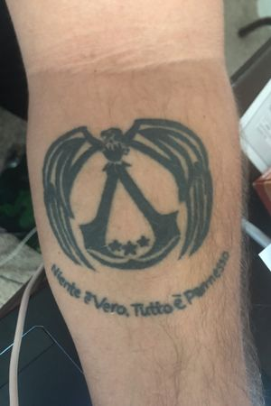 Assassins creed tattoo #assassinsCreed #videogame