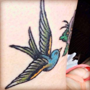 Sparrow #brasscitytattoo #sparrow