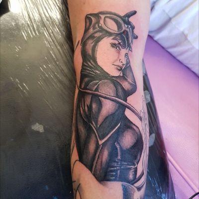 #catwoman #dc #batman #batsleeve #harleyquinn #poisonivy #bat