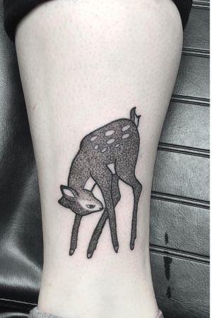 Bambi #dotwork #disney #blackandgrey #bambi