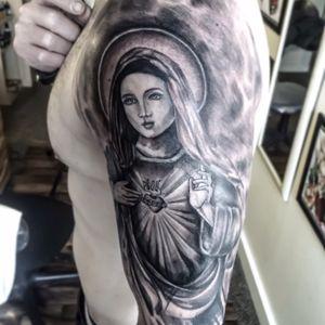 Turco Tattooist #turcotattoos #turkishstyle #turcotattooist #turcotattoostudio #blackandgraytattoo #religioustattoo