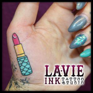Lipstick #lipstick #lips #color #tattoo #tattoolife #tattooart
