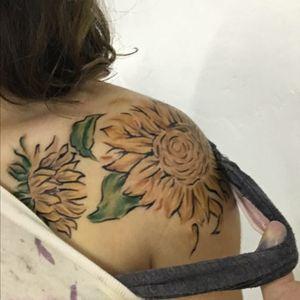 #VanGogh #sunflower #flower