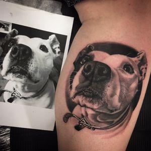 #portraittattoo #doggystyle #blackandgreytattoo #greywash #doglover #bnginksociety #bng #tattoophotography #tattoos #irezumi #londontattoos #fudoshintattoos @fudoshintattoos