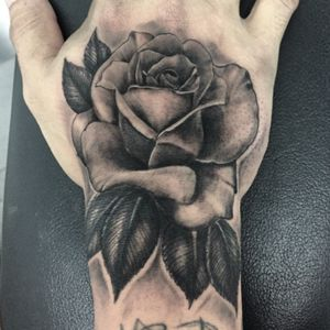 Bng rose #rose #handrose #Tattoodo #bnginksociety #bngtattoo
