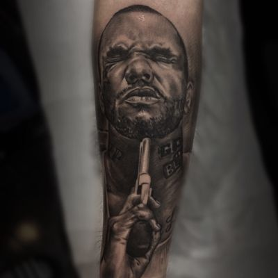 Done🔝♠️ @radiantcolorsink @fkirons #radiantcolorsink #fkirons @inkeeze @h2oceanaftercare @losangelesconfidential #thebesttattooartists #tattoos #tattooistartmag #tattooflash #tattooistartmag #tattoostudio #inkfreakz #inkedmag #inked #tattoorealistic #hiphop #thegame #inksav #blackandwhite #sullen #sullentv #sullenrussia #tattoodo #tattoostyle #inkedlife #inklife #tattooartwork #definitelyart #istanbulcity #bakirkoy #turkey