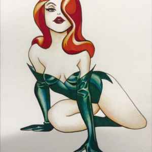 Poison Ivy (Bruce Timm reference)