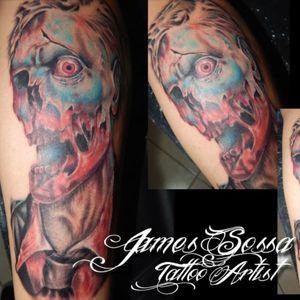 #zombietattoo #jamessossatattooartist