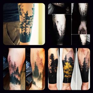 Sexy #forest #nature #trees #forearm #sleeve