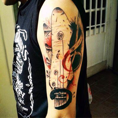 #josealvarado#musictattoo #guitar