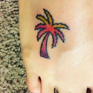 #palmtree #sunsettattoo