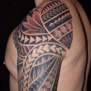 Tattoo by Simone Lubrani #polynesian #polynesiantattoo #PolynesianTattoos #PolynesianDesigns #tribal #tribaltattoo #tribalmaori #polynesianstyle #blackink #blacktattoo #blackinktattoo #black #sholder #sholdertattoo #sholdercaptattoo #arm #armtattoo #halfsleeve #guyswithhalfsleeve #halfsleevetattoo #simonelubrani #artist #tattoo #tattoos #tat #tats #tatts #tatted #tattedup #tattoist #tattooed #tattoooftheday #inked #inkedup #ink #tattoooftheday #amazingink #bodyart #LarkTattoo #LarkTattooWestbury #NY #BestOfLongIsland #VotedBestOfLongIsland #BestOfNYC #VotedBestOfNYC #VotedNumber1 #LongIsland #LongIslandNY #NewYork #NYC #TattoosEvenMomWouldLove #NassauCounty