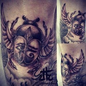 #scarab#egyptian#Joel#Tatts on Tatts Off Gungahlin