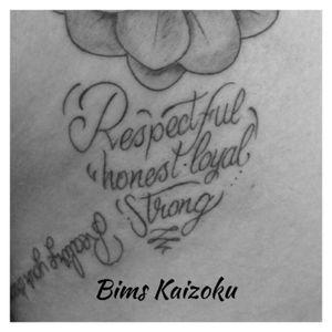 #bims #bimskaizoku #bimstattoo #respectful #honest #loyal #strong #coeur #heart #letter #lettering #tatouage #tattoo #tattoos #tattooed #tattooartist #tattooart #tattoolife #tattooer #paristattoo #tatoueurparis #ink #inked #paris #paname #france #french