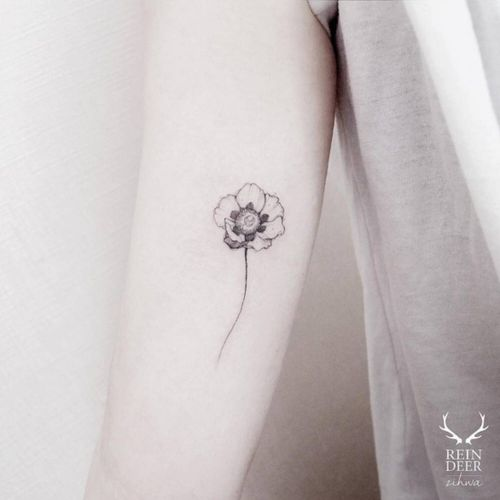 What about a #halfsleeve made out of #flowers like this? #minimalistic #simple #beauty #statement #dainty