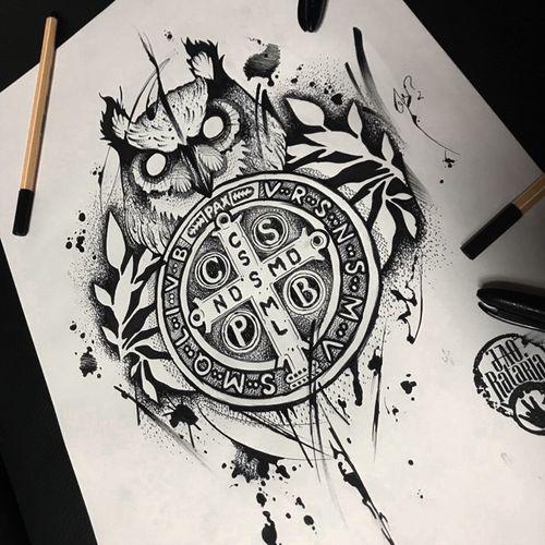 Estudo pra tattoo! #rataria #tattoo #blackwork #blackworkers #blackworkerssubmission #ttblackink #onlyblackart #theblackmasters #tattooartwork #inkstinct #inkstinctsubmission #superbtattoos #wiilsubmission #stabmegod #tattoos_artwork