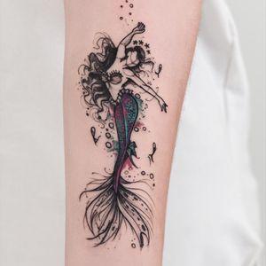 #ocean #delicatetattoo #tattoo