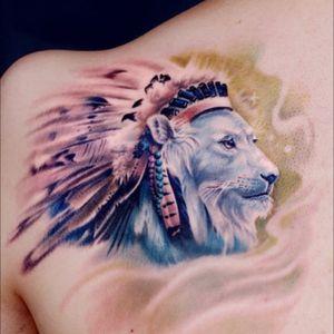#tattoodo #tattoodoAPP #colorful #lion #lionking#rptattooo#gangshao #chineseartist #shanghai