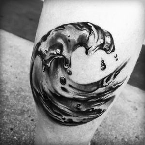 Artist #JeanAlvarez #wave #water