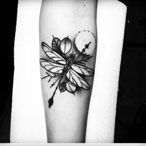 Artist Julia Szewczykowska #dragonfly