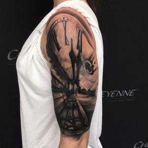 Tattoo by Autark digital tattooing