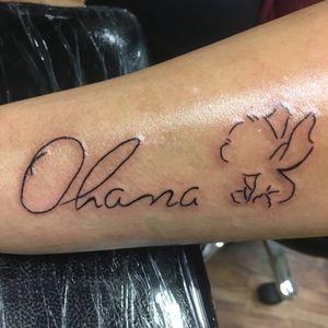 Ohana tattoo #disneytattoo#stitchtattoo#eternalinks