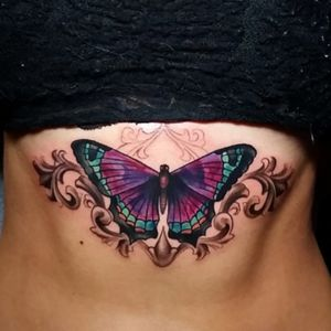 By Tyler Malek I love the color choices #butterfly
