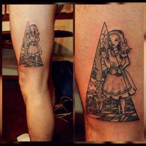#alice #wonderland #mirror #triangle