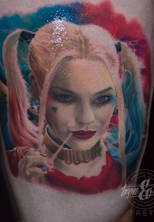 Harley quinn 😄 amazing project!