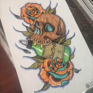 Some art for my good friends at electrum #tats #tattoos #tattoo #art #ink #guyswithink #girlswithink #plugs #scene #beard #eternalink #phucstyxtattoosupply #steelfangstattoosupply #griffinsalve #pridetattooneedles #electrumstencilproducts #electrum #workingclassmetals #medievilirons #teamelectrum #griffinguild