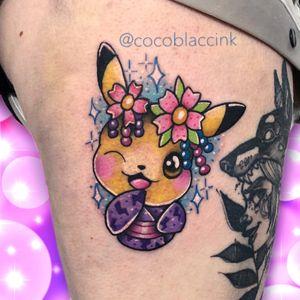 Kawaii Pikachu 💗 #kawaii #kawaiitattoo #poland