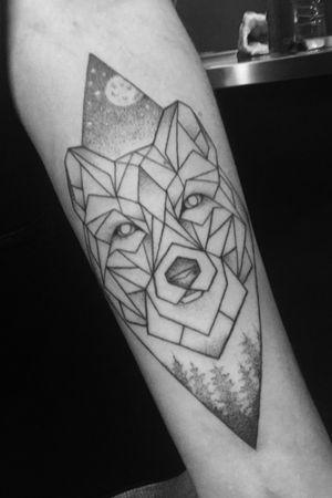 My first tattoo. March, 2017. Artist - @miriamandrea_ink