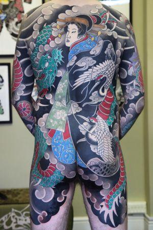 #japanesetattoo #irezumi #horimono #tattoos #tattoouk #tattoolondon #lucaortis #bodysuit