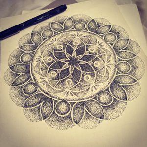 Pointillism design 🤘🏼 #pointillism #design #tattoodesign #dreamtattoo
