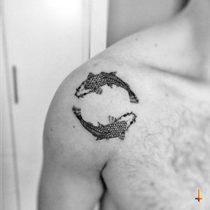Nº261 #tattoo #tatuaje #ink #inked #koi #koitattoo #koifish #fish #fishtattoo #bylazlodasilva
