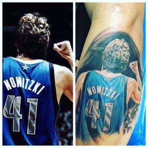 #nba #sports #dirk #tattoos #ink