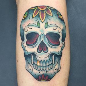 #sugarskull #skull #skulltattoo