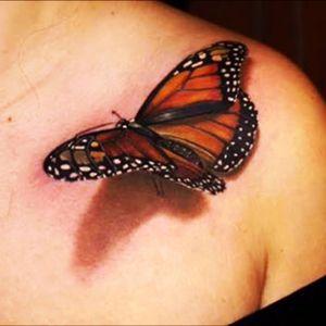 #butterfly #3dtattoo