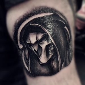 #blackandgrey #reaper #overwatch