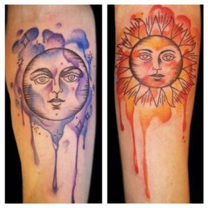 Tattoo by Hannah Clock. See more here: http://www.larktattoo.com/long-island-team-homepage/hannah-clock/ #hannahmarieclock #hannahclock #tattooerhannahclock #hannahclocktattooartis #LarkTattoo#moon #moontattoo #moons #sun #suntattoo #sunandmoontattoo #sunandmoon #sunandmoontattoos #femaletattooartist #femaletattooist #female #femaletattooer #femaleartist #watercolor #watercolortattoo #watercolortattoos #watercolour #watercolorartist #watercolortattooartist #WatercolorArtists #watercolourtattoo #watercolorart #WatercolorInspiration #WatercolorDesigns #watercolorlettering #colortattoo #tattoo #tattoos #tat #tats #tatts #tatted #tattedup #tattoist #tattooed #inspiration #tattoooftheday #inked #tattooinspiratio #inkedup #ink #tattoooftheday #amazingink #bodyart #tattooig #tattoosofinstagram #instatats #larktattoo #larktattoos #larktattoowestbury #westbury #longisland #NY #NewYork #usa #art