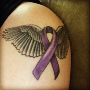 #epilepsyawareness #ribbon #angelwings #warrior