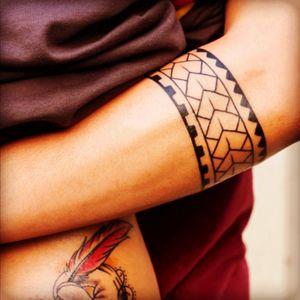 Like it #armband #tribal #geometric #linework