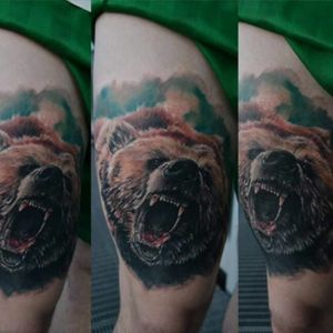 #bear #beartattoo