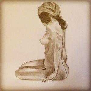 last nude drawing #nude #nudedrawing #drawing #pencildrawing #pencil #drawingpencil #greatdrawing