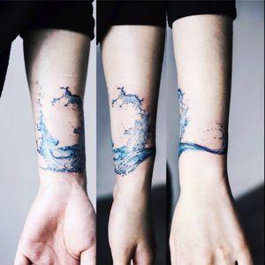 Sol Tattoo #soltattoo #waves #water
